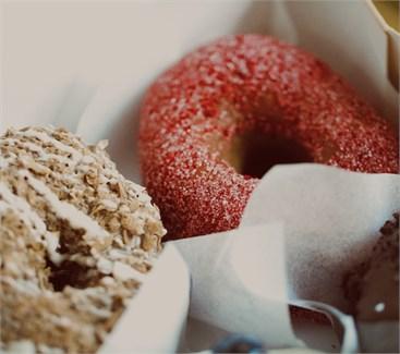 Пончики ягодное ассорти